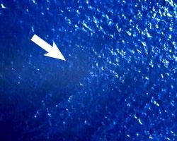 homme a la mer sans signalisation
